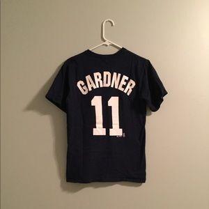 NY Yankees Brett GARDNER #11 T-shirt